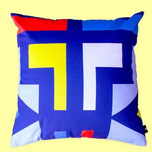Ndebele Abstract Scatter Cushion