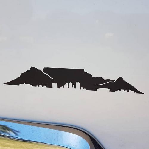 Table Mountain Sticker